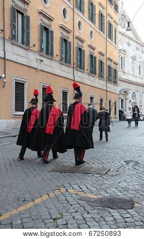 Carabinieri Italian Police