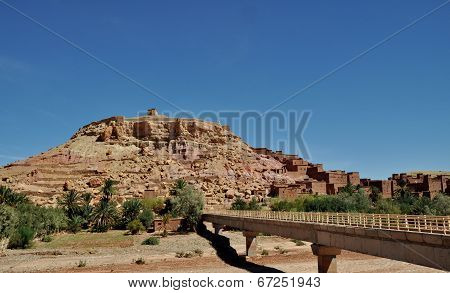 Ouarzazate City In Morocco, Africa