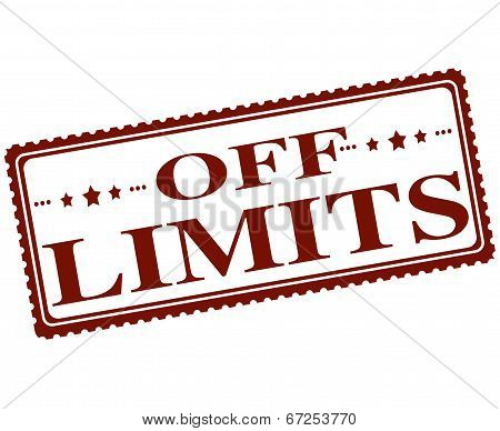 Off Limits Stamp