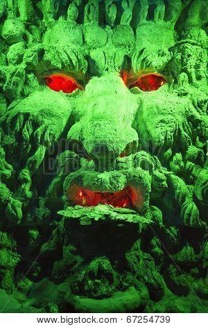 Green Cave God