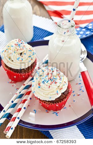 Little Cupcakes With Frosting
