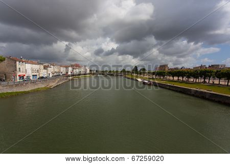 Charente River In Saintes