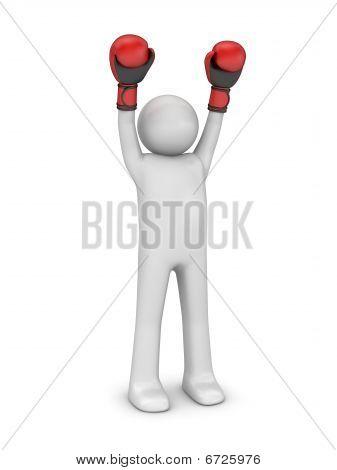 Winner boxer