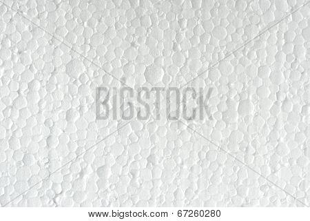 Polystyrene Texture Closeup