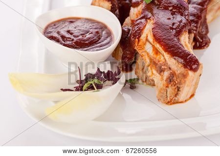 Delicious Grilled Pork Ribs