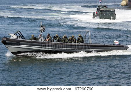 Dutch Swat Marines
