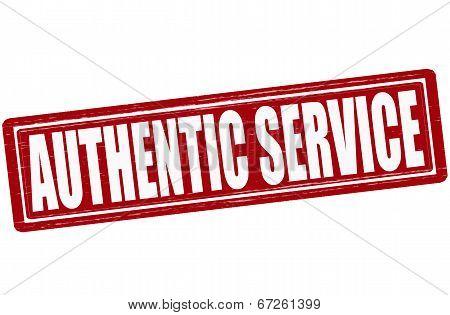 Authentic Service