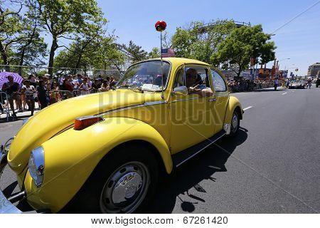 1947 classic Volkswagon Super Beetle
