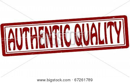 Authentic Quality