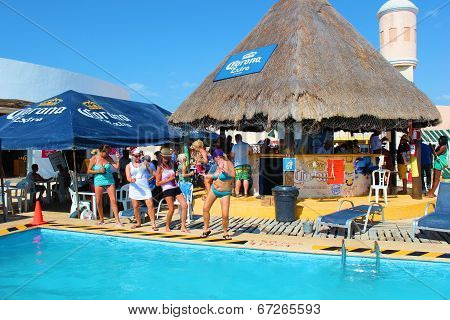 Cruise Port Pool Party
