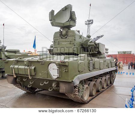 Antiaircraft gun missile system 2S6M1 Tunguska M1