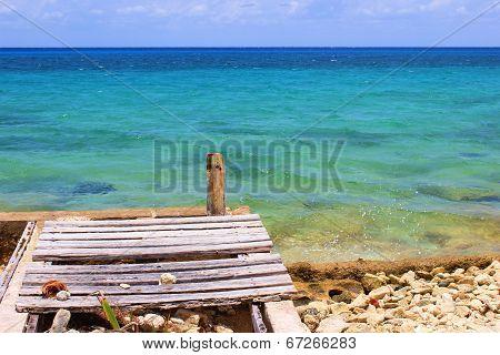 Rustic Carribean Dock