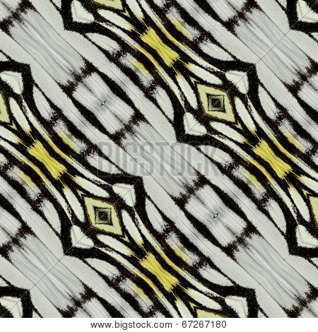 Close Up Of Black And White Background Pattern Made Of Common Gull Butterfly's Wing Skin