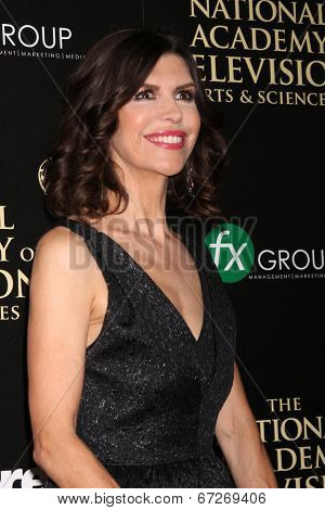LOS ANGELES - JUN 22:  Finola Hughes at the 2014 Daytime Emmy Awards Arrivals at the Beverly Hilton Hotel on June 22, 2014 in Beverly Hills, CA