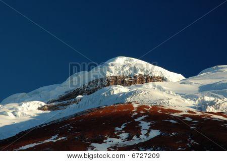 Cotopaxi mountain, Ecuador Andes.
