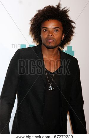 LOS ANGELES - JUN 24:  Eka Darville at the 5th Annual Thirst Gala at the Beverly Hilton Hotel on June 24, 2014 in Beverly Hills, CA
