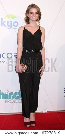 LOS ANGELES - JUN 24:  Kerris Dorsey at the 5th Annual Thirst Gala at the Beverly Hilton Hotel on June 24, 2014 in Beverly Hills, CA