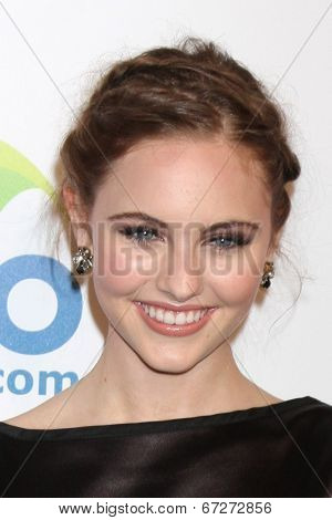 LOS ANGELES - JUN 24:  Ella Wahlestedt at the 5th Annual Thirst Gala at the Beverly Hilton Hotel on June 24, 2014 in Beverly Hills, CA