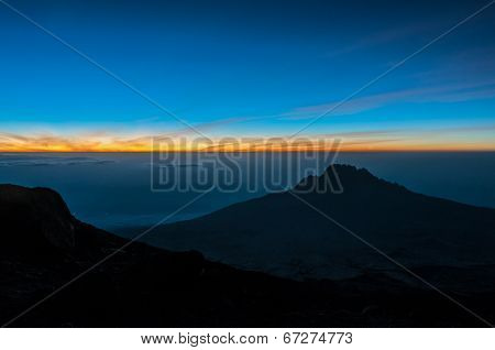 Sunrise On Summit Night, Kilimanjaro