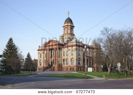 Cottonwood County Courthouse In Windom, Minnesota