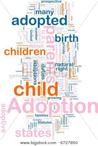 Adoption Word Cloud