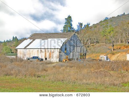 Oregon Barn-2