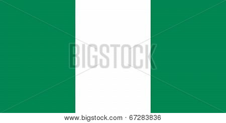 Nigerian national flag, Authentic version