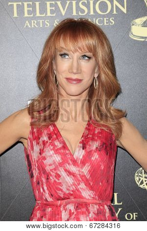 BEVERLY HILLS - JUN 22: Kathy Griffin at The 41st Annual Daytime Emmy Awards Press Room at The Beverly Hilton Hotel on June 22, 2014 in Beverly Hills, California