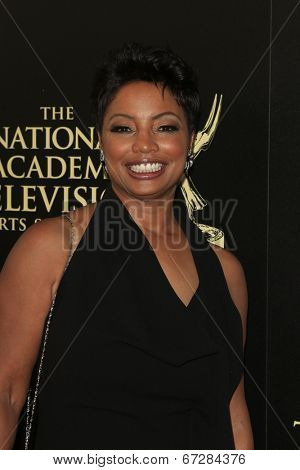 BEVERLY HILLS - JUN 22: Lynn Toler at The 41st Annual Daytime Emmy Awards Press Room at The Beverly Hilton Hotel on June 22, 2014 in Beverly Hills, California