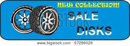 Wheel disks sale