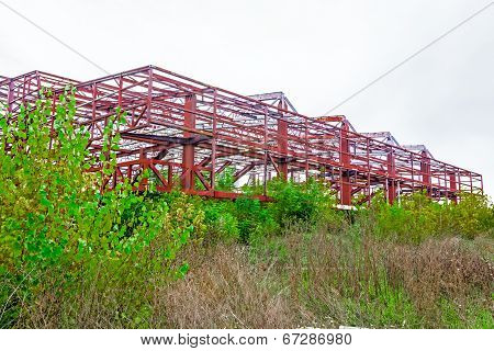 Rural Disused Steel Construction
