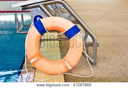 Life Preserver Floating