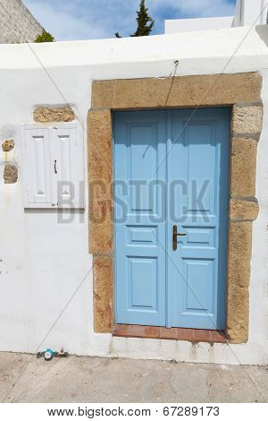 Traditional house from Greece