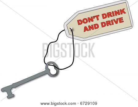 Old Key Dont Drink And Drive.