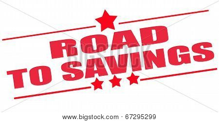 Road To Savings Stamp