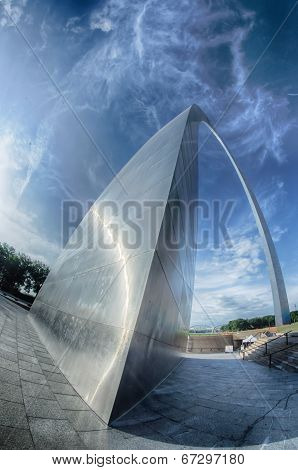 Gateway Arch In St Louis Missouri