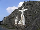 picture of crucifiction  - A photo taken on the Dingle Peninsula in Ireland - JPG