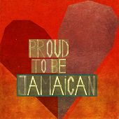 image of jamaican  - Proud to be Jamaican - JPG