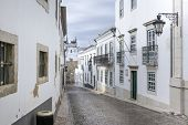 pic of faro  - Historic old district in Faro Algarve  - JPG