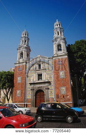 Church in Puebla