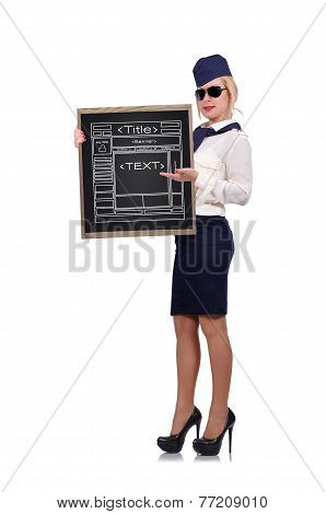 Blackboard With Website