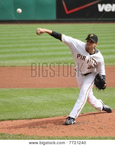 Charlie Morton of Pittsburgh Pirates
