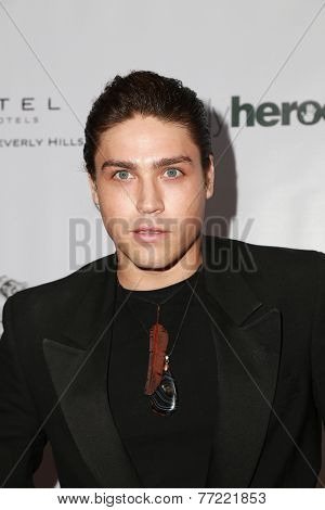 LOS ANGELES - NOV 8:  Logan Huffman at the 3rd Annual Unlikely Heroes Awards Dinner And Gala at the Sofitel Hotel on November 8, 2014 in Beverly Hills, CA