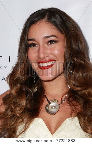 LOS ANGELES - NOV 8:  Q'orianka Kilcher at the 3rd Annual Unlikely Heroes Awards Dinner And Gala at the Sofitel Hotel on November 8, 2014 in Beverly Hills, CA