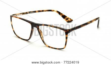 Reading Glasses Isolated On White