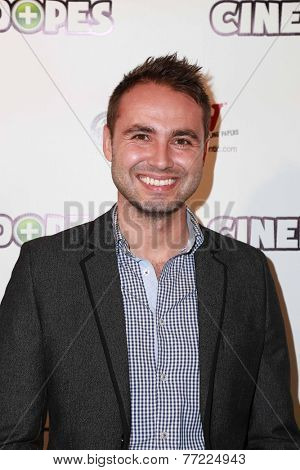 LOS ANGELES - NOV 18:  Justin Smith at the CineDopes Web Series Premiere And Launch Party at the Busby's East on November 18, 2014 in Los Angeles, CA