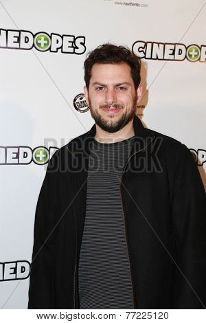 LOS ANGELES - NOV 18:  Michael Bernardi at the CineDopes Web Series Premiere And Launch Party at the Busby's East on November 18, 2014 in Los Angeles, CA