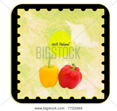 Personalizable Label For Peppers Products - English