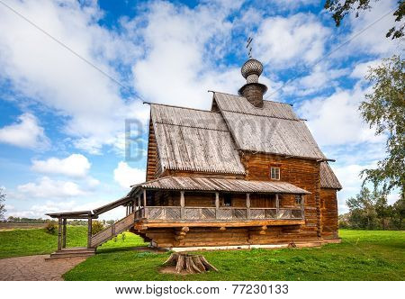 Suzdal. Church Of St. Nicholas From The Village Of Glotovo, Yuriev-polsky District (1766)