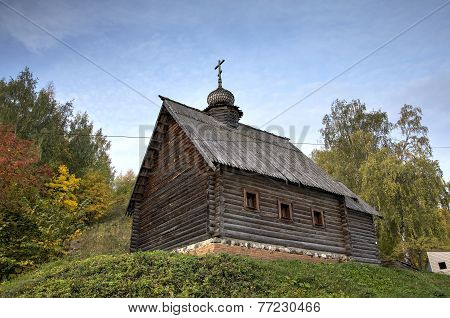 Archangel Michael Church. Ples, Golden Ring of Russia